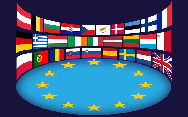 evropská unie vlajky