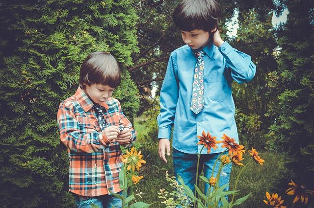 dvě děti