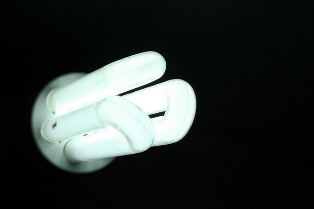 moderní kompaktní zářivka
