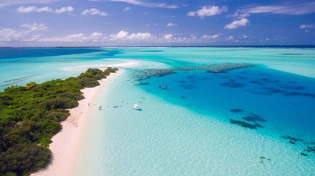 obrázek z Malediv
