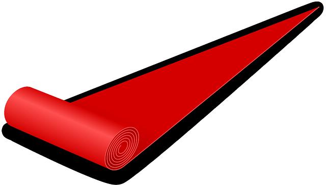 natažený běhoun (kresba)